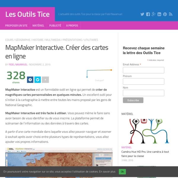 mapmaker interactive cr er des cartes en ligne pearltrees. Black Bedroom Furniture Sets. Home Design Ideas