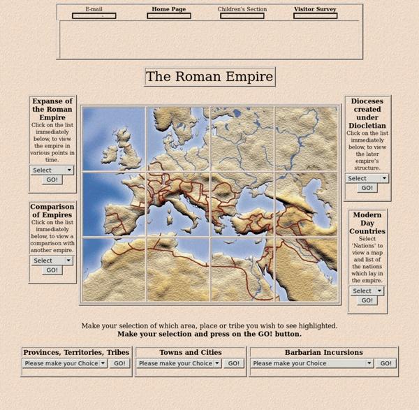 Cartes de l'Empire romain