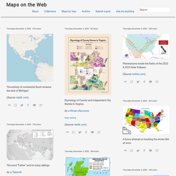 Maps on the Web
