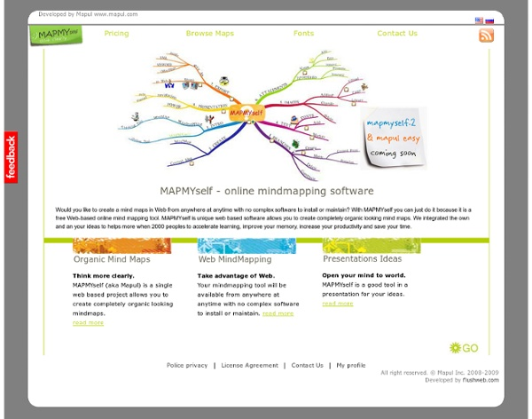 Free online mind mapping software