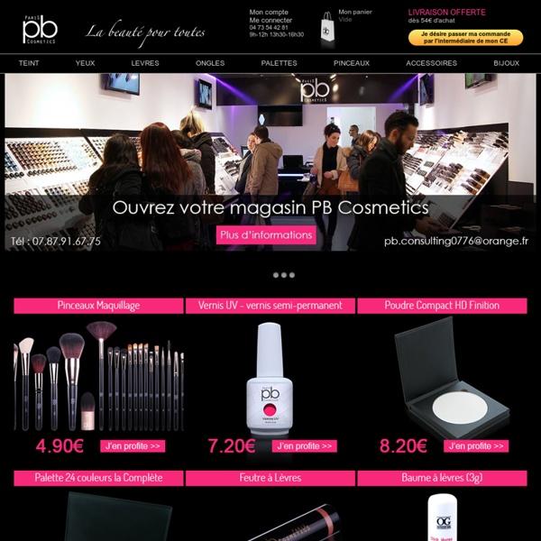 Maquillage discount et produits cosmétiques à 1 euro - PB Cosmetics, le maquillage pas cher