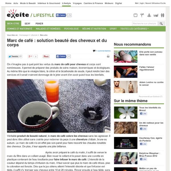 Marc De Café Cheveux Dès Maintenant Sur Excite FR Bien-être