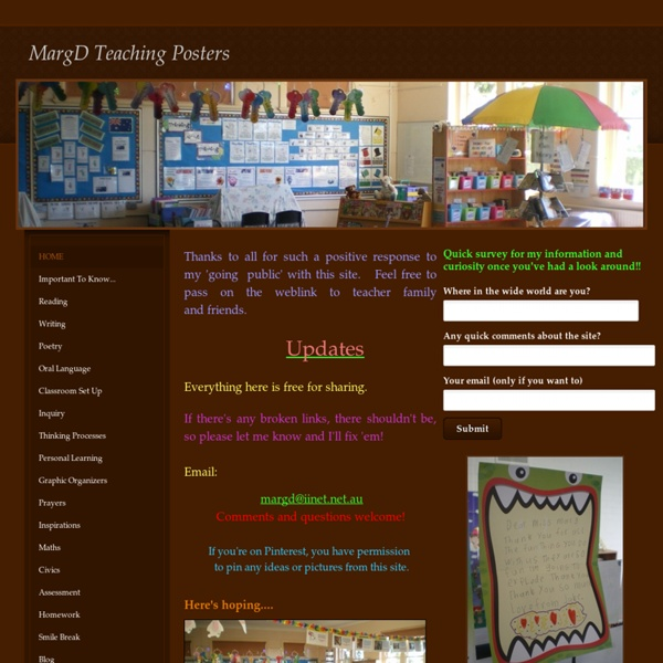 MargD Teaching Posters
