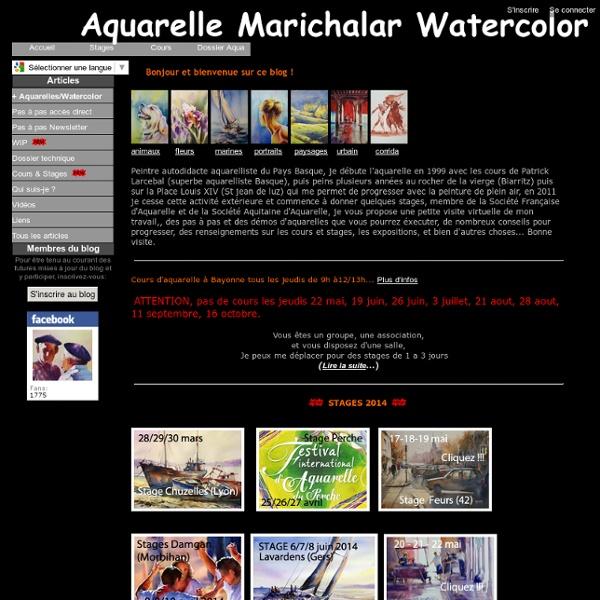 Aquarelles animaux - Page 2 - Aquarelle Marichalar Watercolor