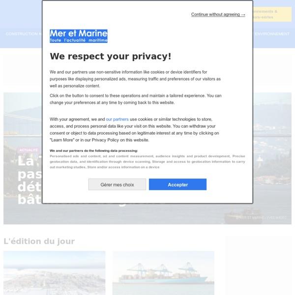 Toute l'actualité maritime