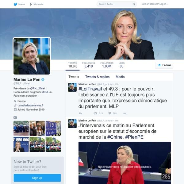 Marine Le Pen (MLP_officiel)