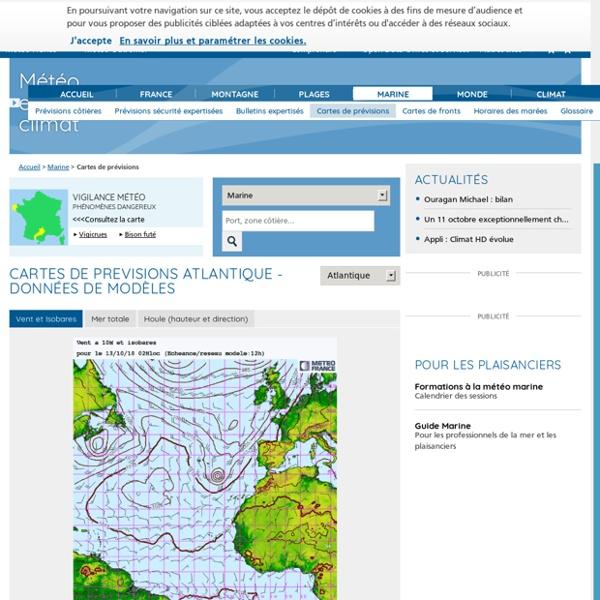Prévisions météo de Météo-France - Accueil