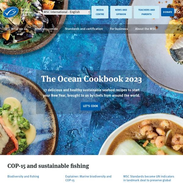 Marine Stewardship Council - home