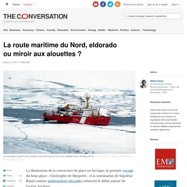 La route maritime du Nord, eldorado oumiroir auxalouettes?