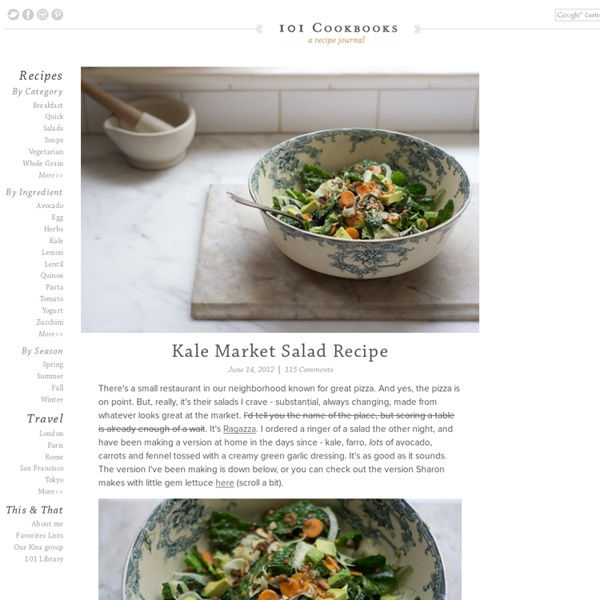 Kale Market Salad Recipe | Pearltrees