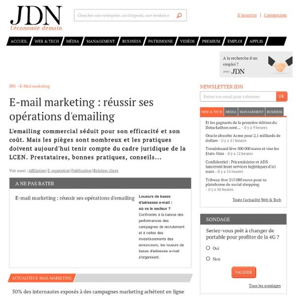 Mail Marketing, les bonnes pratiques