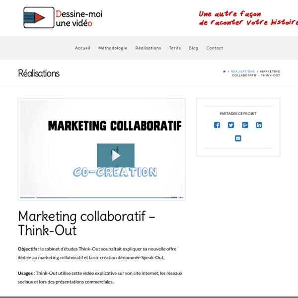Marketing collaboratif - Think-Out - Dessine-moi une vidéo