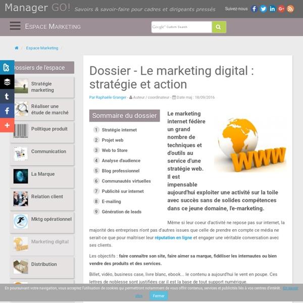 Marketing digital : connaîtres les méthodes et outils