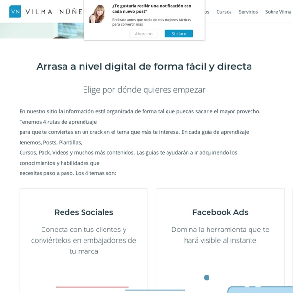 Social Media Marketing - Plantillas, Ebooks y Tutoriales