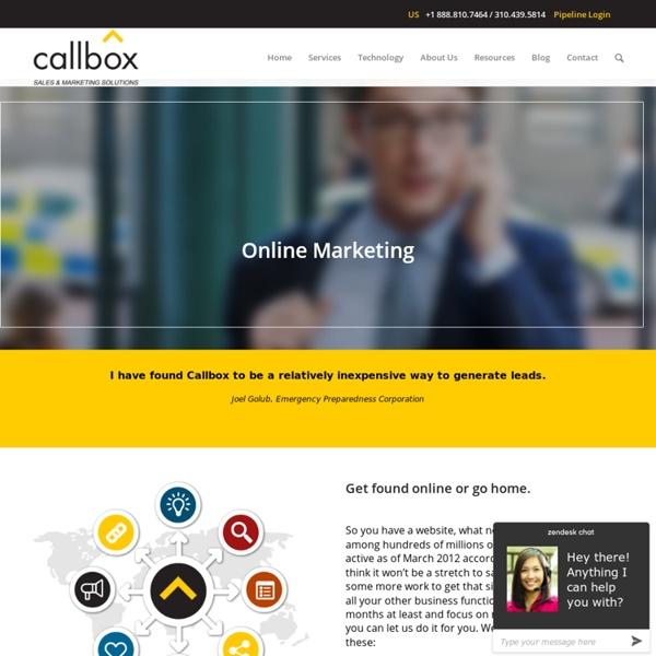 Online Marketing - B2B Lead Generation Company Malaysia