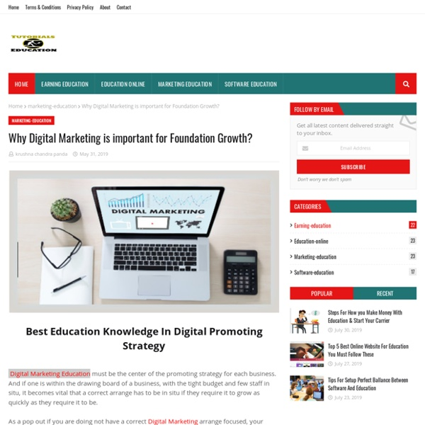 Why Digital Marketing is important for Foundation Growth?