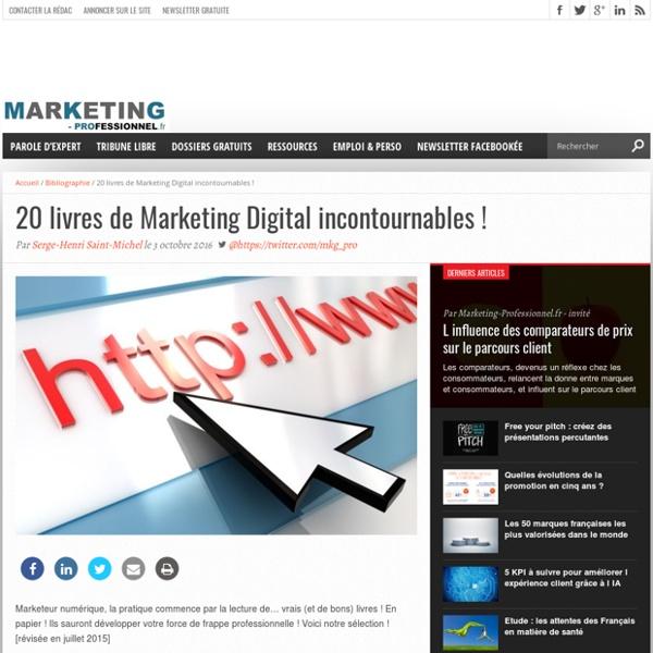 20 livres de Marketing Digital incontournables !