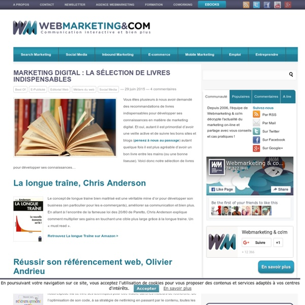 Marketing digital : La sélection de livres indispensables