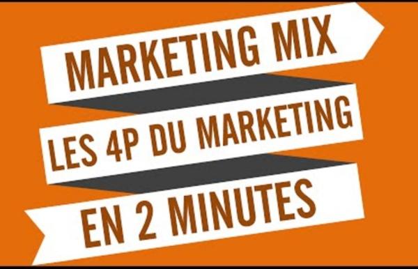 Marketing mix : les 4P du marketing en 2 minutes