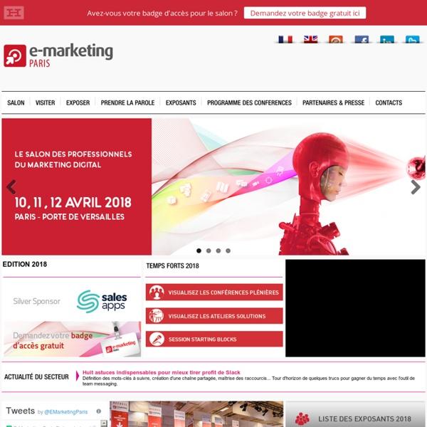 E-Marketing Paris - Le salon des professionnels du Marketing Digital
