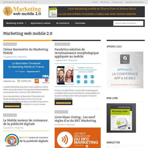 Marketing web mobile.fr - Thèse professionnelle m-marketing m-commerce