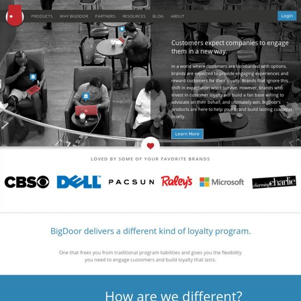 BigDoor: Gamified Loyalty and Rewards Programs
