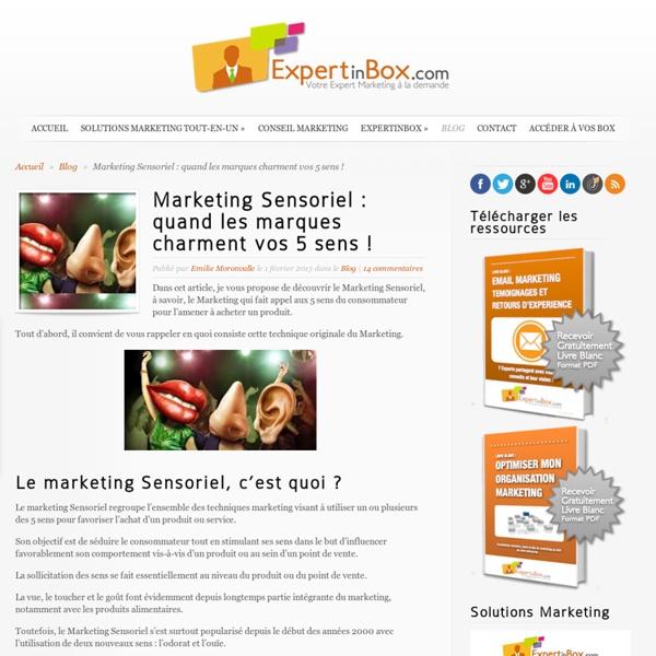 Marketing Sensoriel : quand les marques charment vos 5 sens !