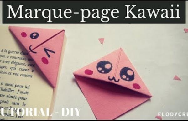 Marque-page KAWAII