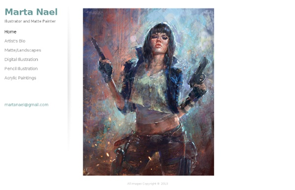 Marta Nael - Illustrator and Matte Painter -