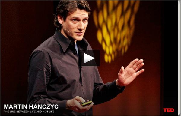 Martin Hanczyc: The line between life and not-life
