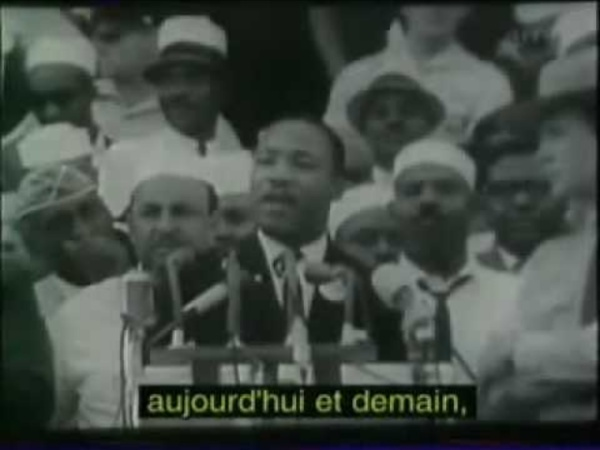 "Martin Luther King ""I have a dream"" (sous-titres français)."