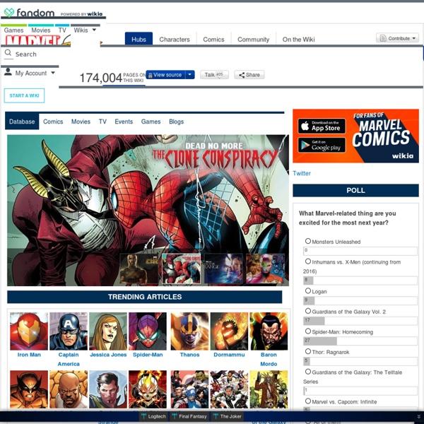Main Page - MarvelDatabase