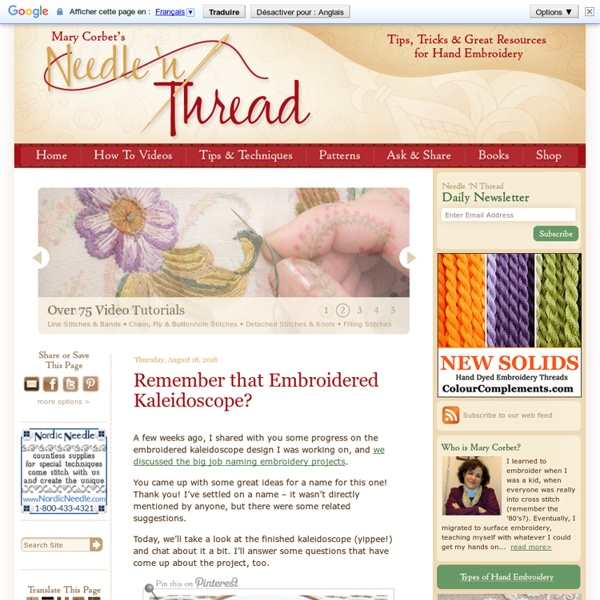 Mary Corbet's Needle 'N Thread