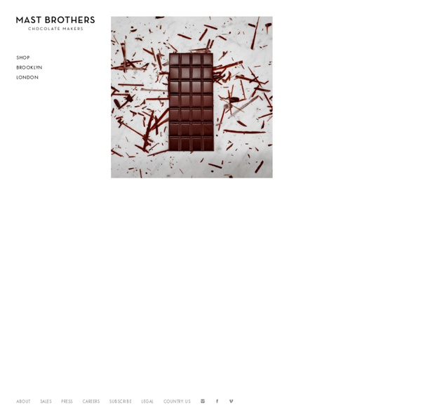 Mast Brothers Chocolate Makers