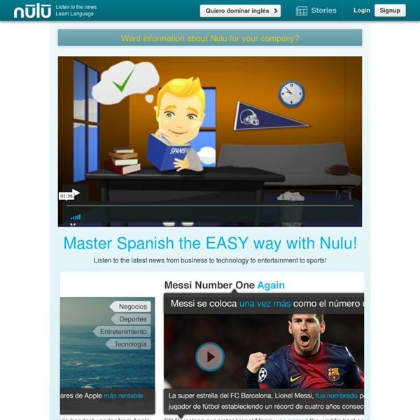 Nulu - Learn a language in 10 minutes a day! - Nulu Languages