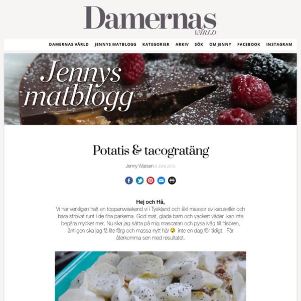 En inspirerande matblogg hos Damernas Värld