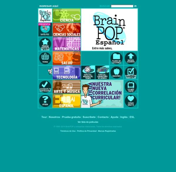 Contenido educativo en español para niños - Ciencias, Matemáticas, Tecnología, Ciencias Sociales, Salud, Inglés, Español, Arte y Música