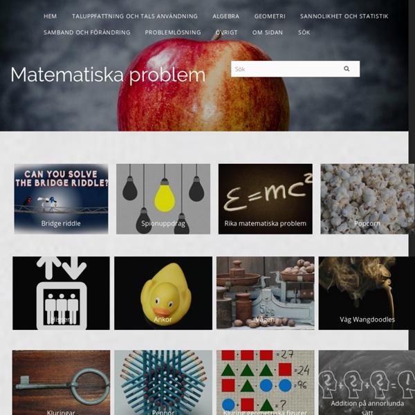 Matematiska problem - Kims matematik