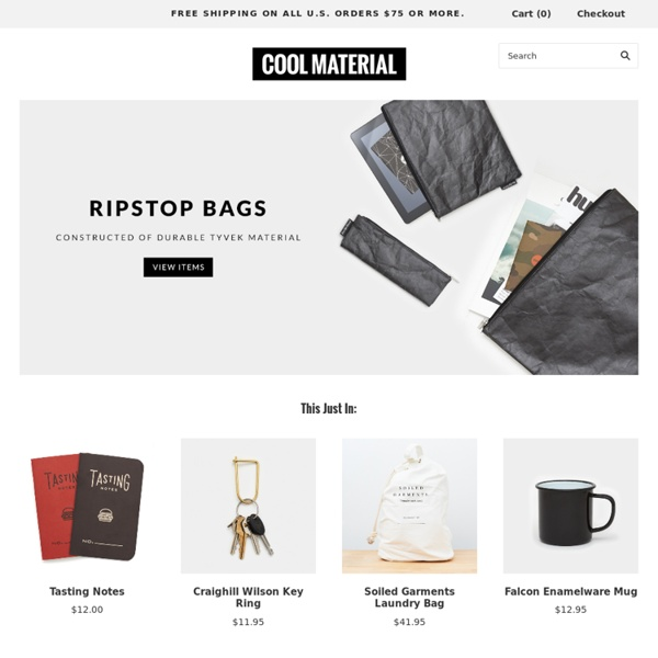 Shop Cool Material – Gifts for Men