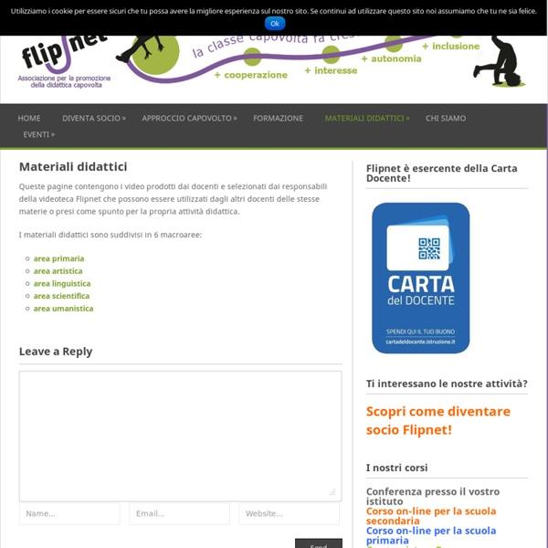Flipnet: materiali didattici