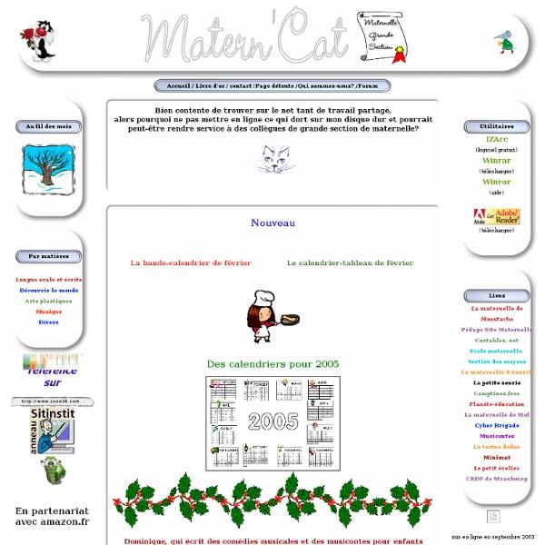 MaternCat maternelle