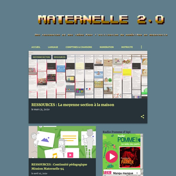 Maternelle 2.0