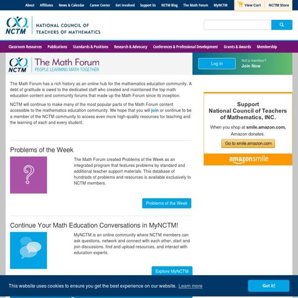 The Math Forum @ Drexel University