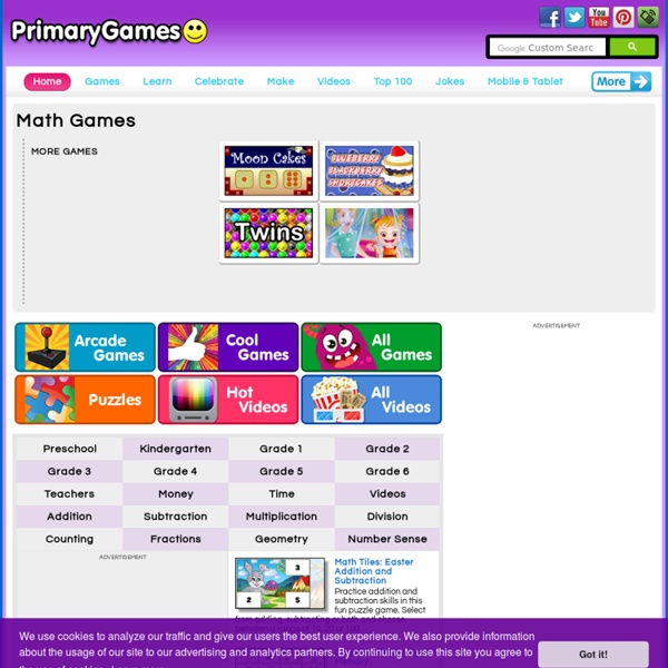 Math Games - PrimaryGames - Play Free Online Games