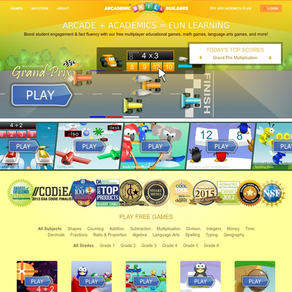 Arcademic Skill Builders: Online Educational Games