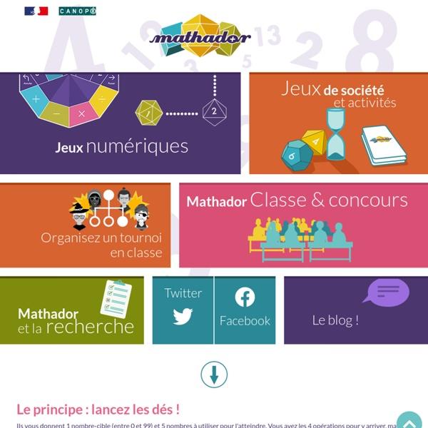 Mathador, jeu mathématique