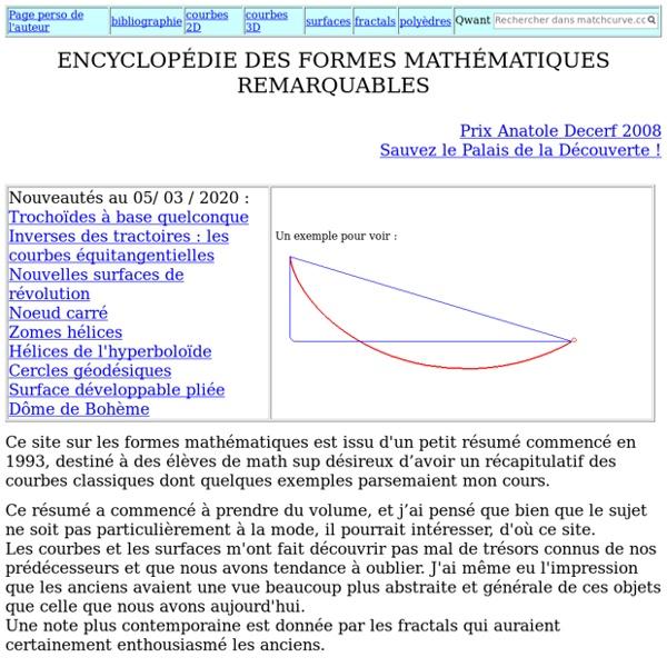 MATHCURVE.COM