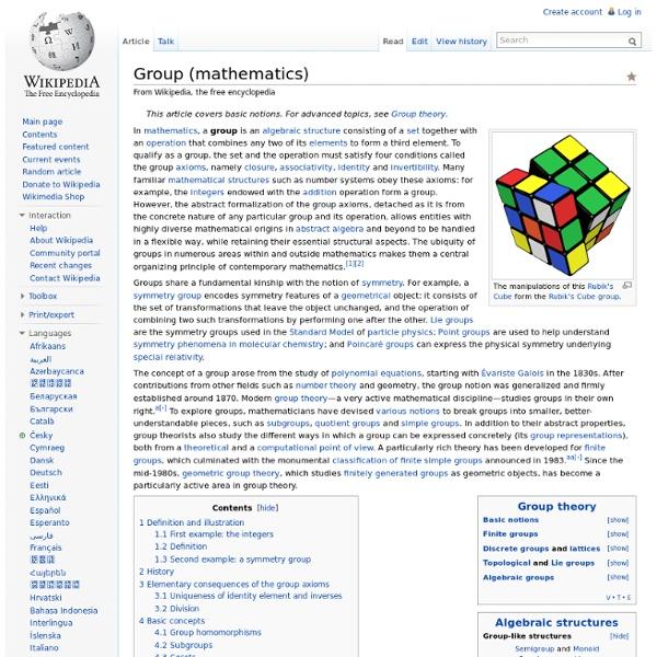 Group (mathematics)