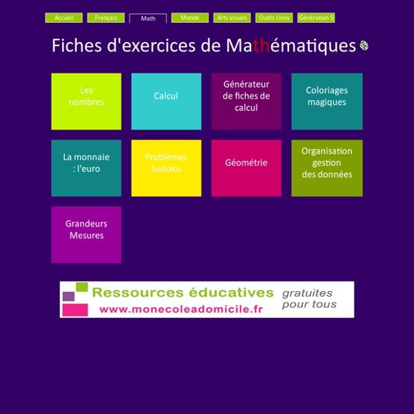 Célèbre Mathématiques GS CP CE1 - Fiches exercices Les coccinelles  XQ14
