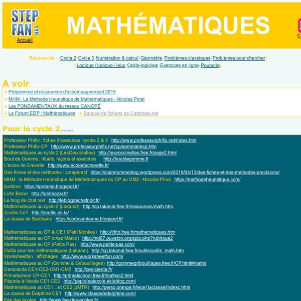 Mathématiques à l'école primaire : numération, calcul, géométrie, mesure, problèmes